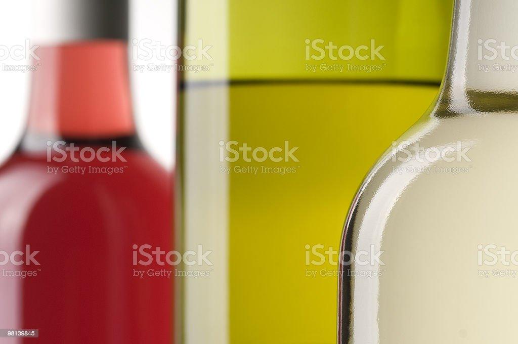 Wine Bottle Backdrop royalty-free stock photo