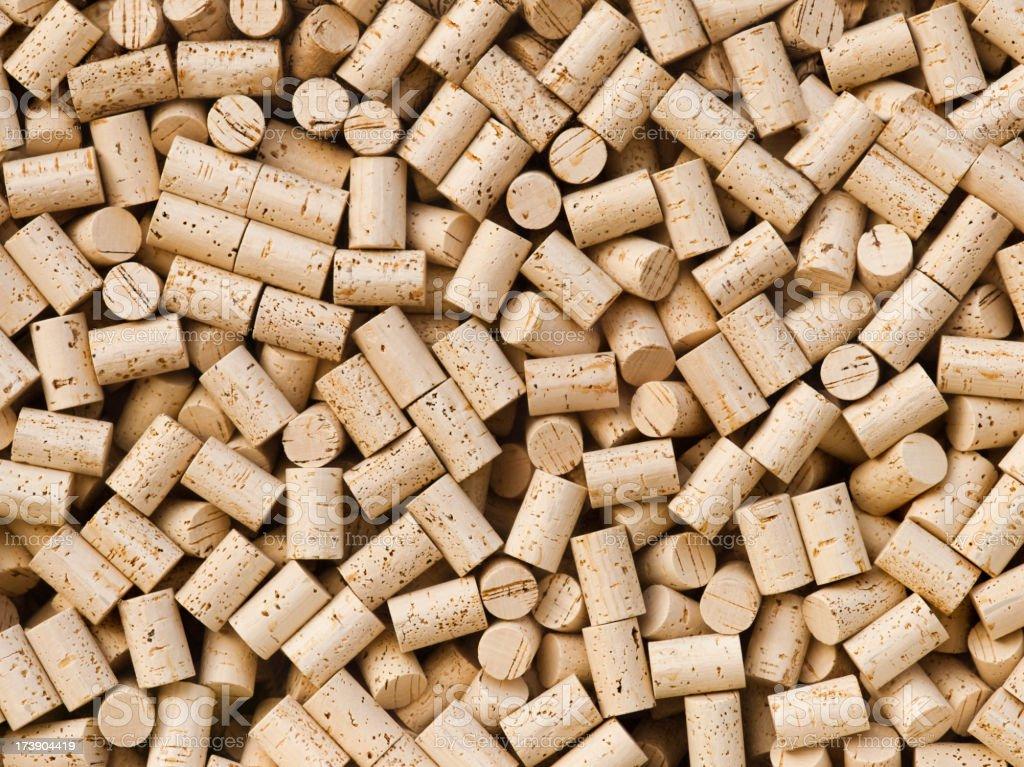 Wine bottle cork background royalty-free stock photo