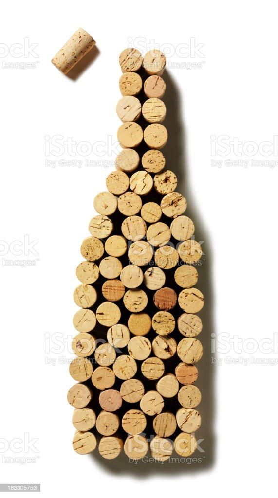 Bouteille de vin de la bouteille - Photo