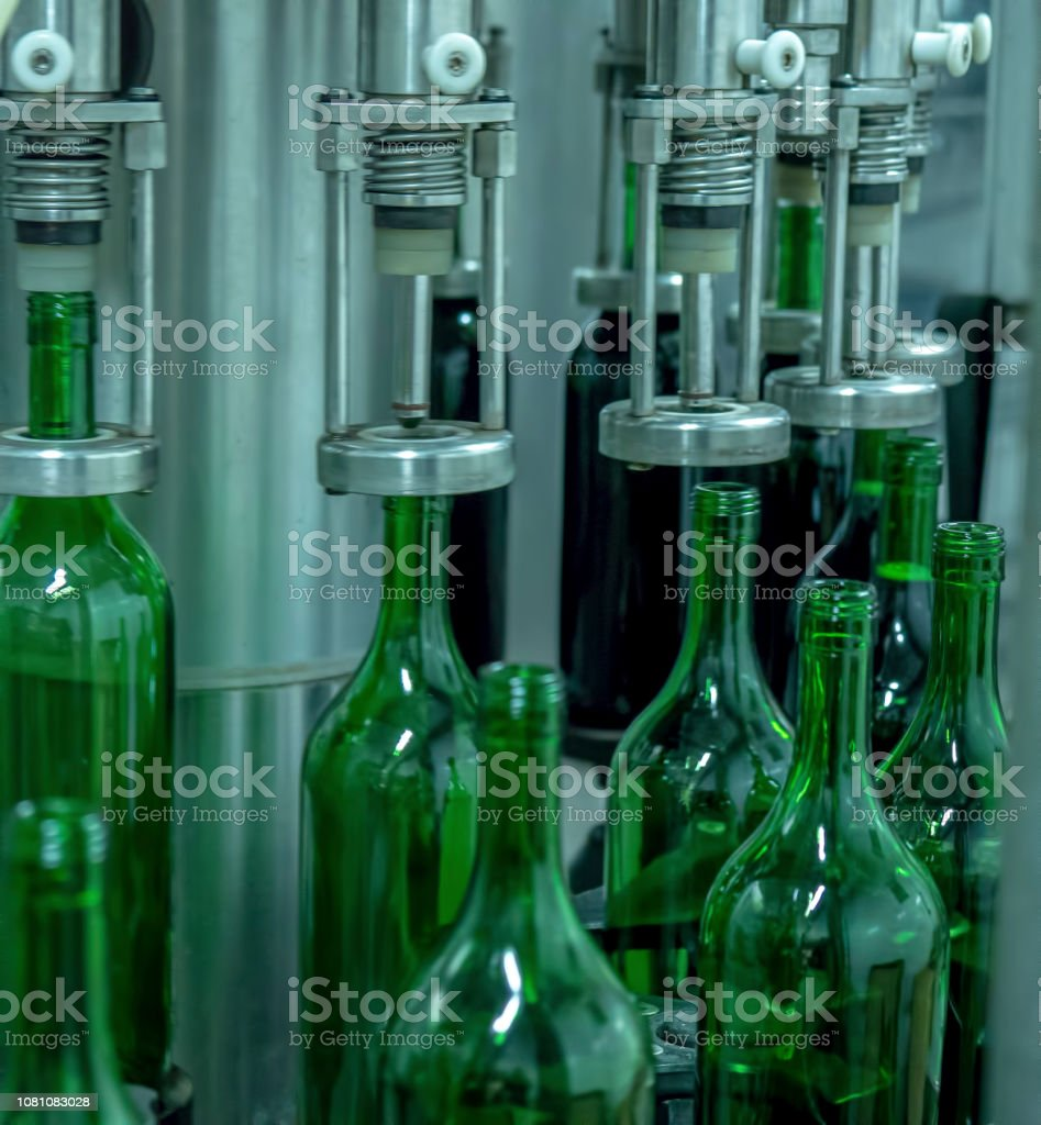 Manufacturing, Food Processing Plant, Wine Bottle, Manufacturing,...