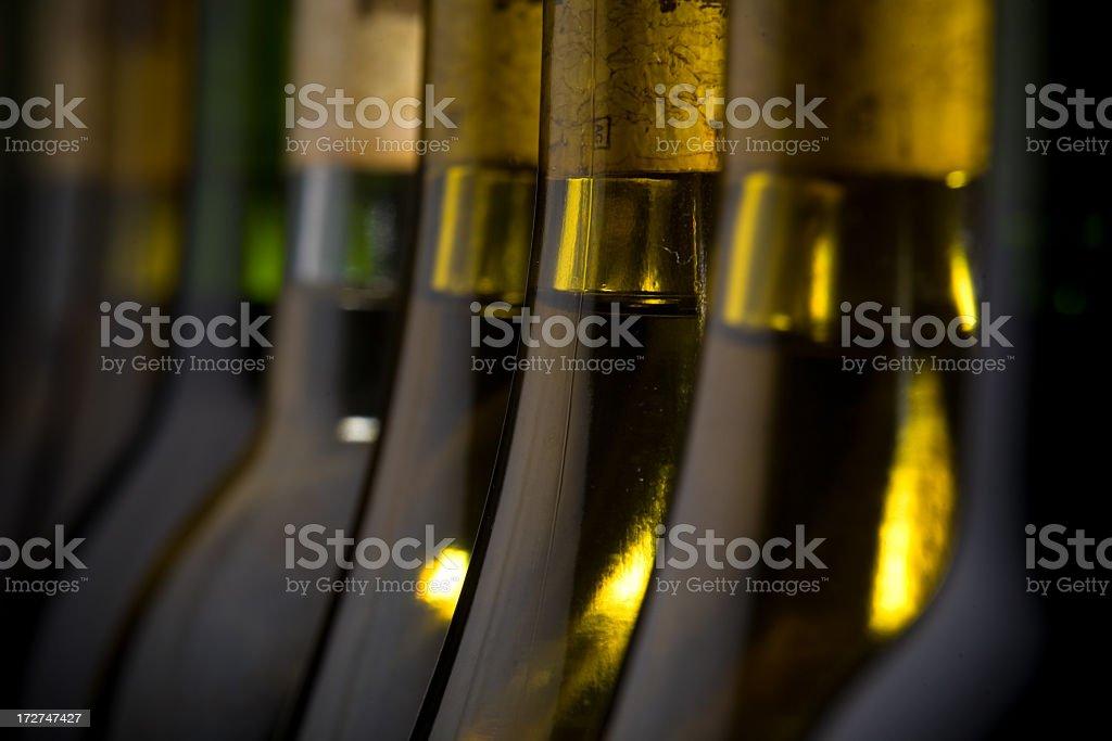 Wine Bottles (Corked) stock photo