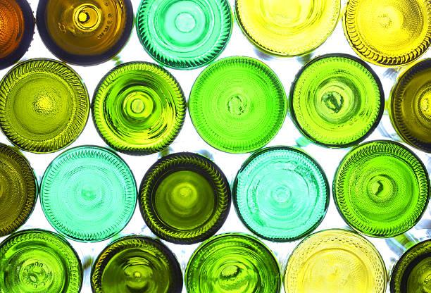 Botellas de vino - foto de stock