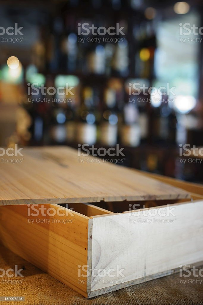 Wine boutique. royalty-free stock photo