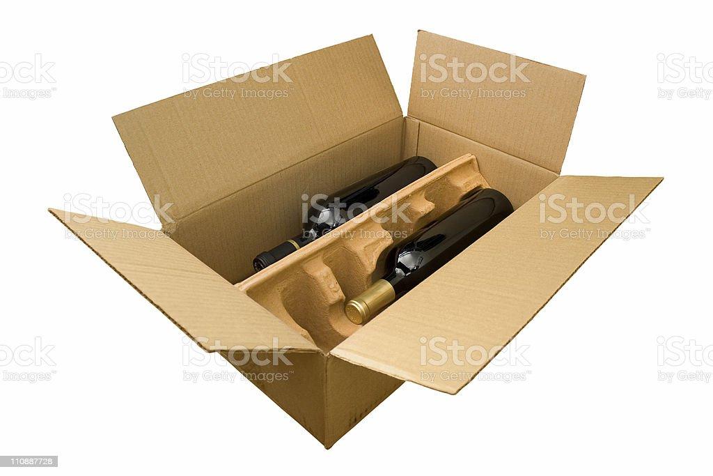 Wine Box stock photo