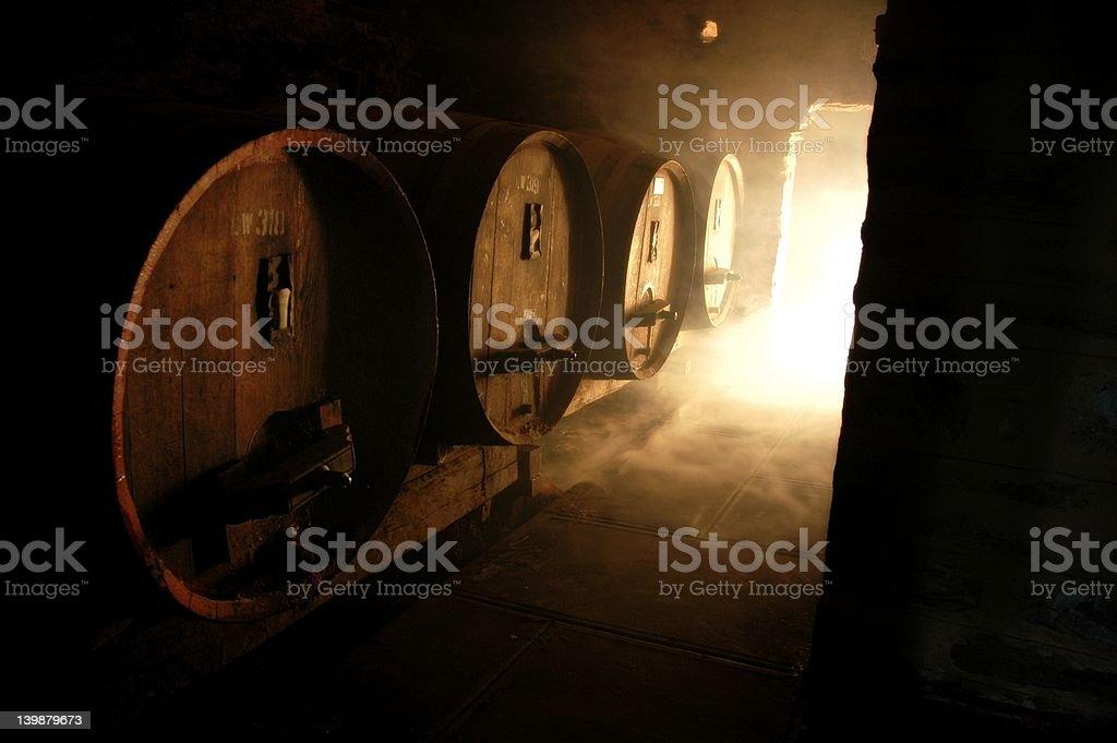 Wine Casks stock photo