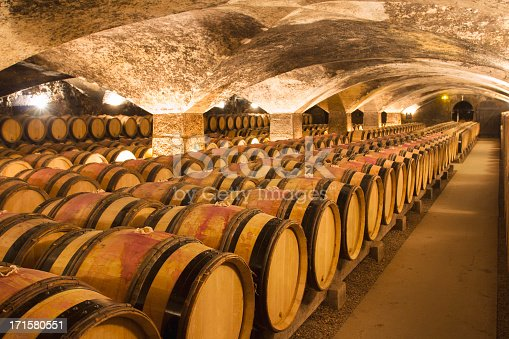 A big and ancient winecellar