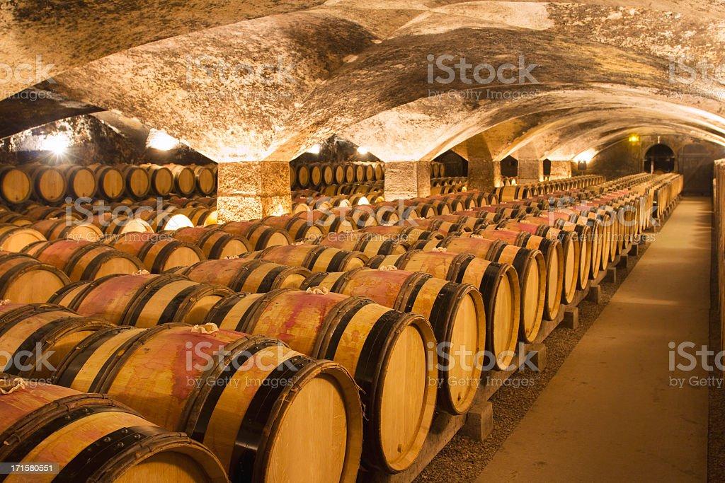 Cantina di vini - foto stock