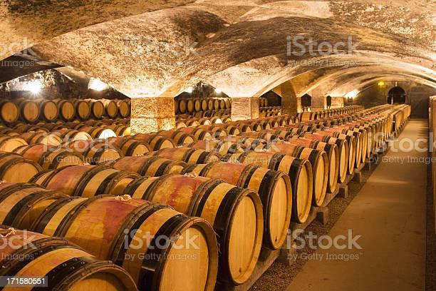 A big and ancient winecellar