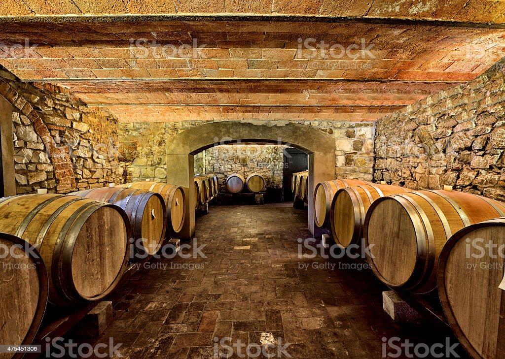 Adega de vinhos - foto de acervo