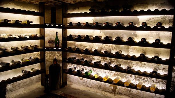 Bodega de vinos - foto de stock