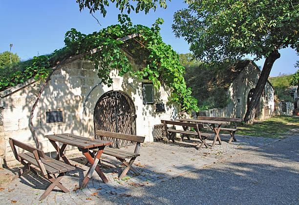 Weinkeller, Neusiedler sehen, Burgenland, Österreich – Foto