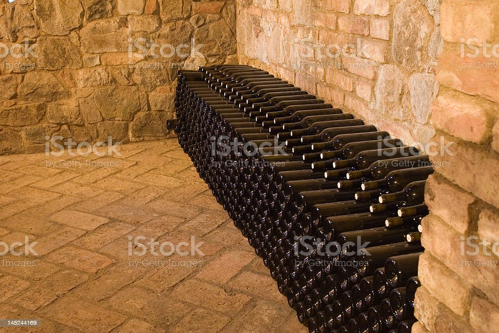 wine cellars royalty-free stock photo