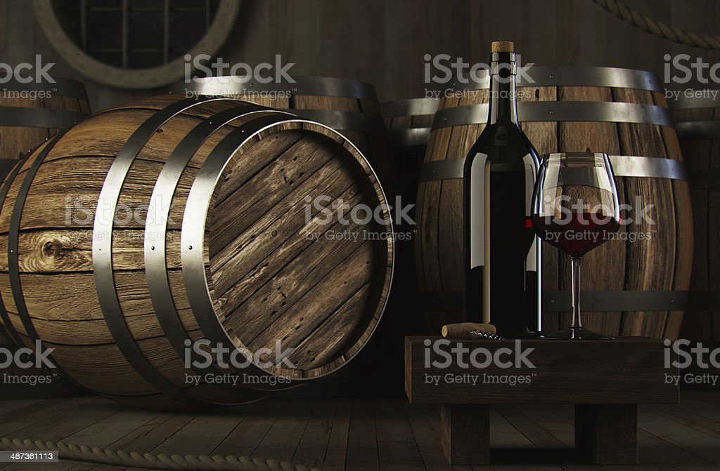 Wine concept stock photo