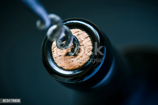 istock wine cork in bottle 823479906