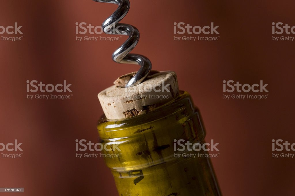 Wine Cork royalty-free stock photo