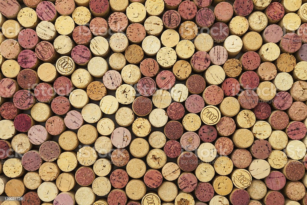 Wine corks background royalty-free stock photo