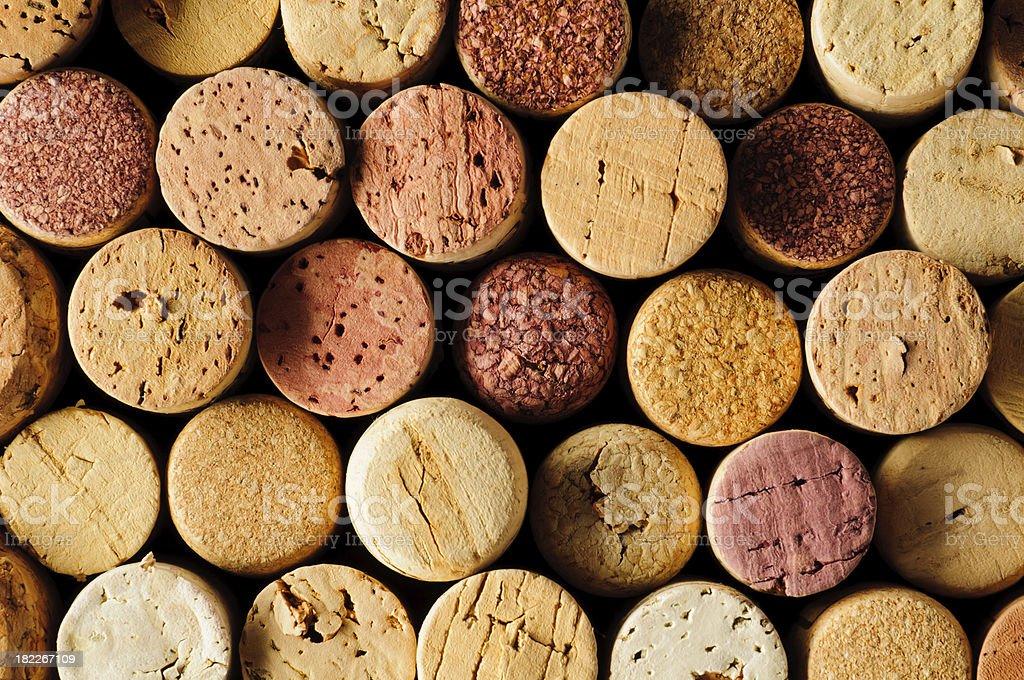 Wein corks Hintergrund – Foto