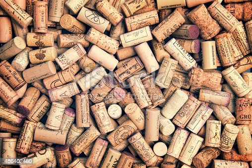 istock Wine corks background 486402460