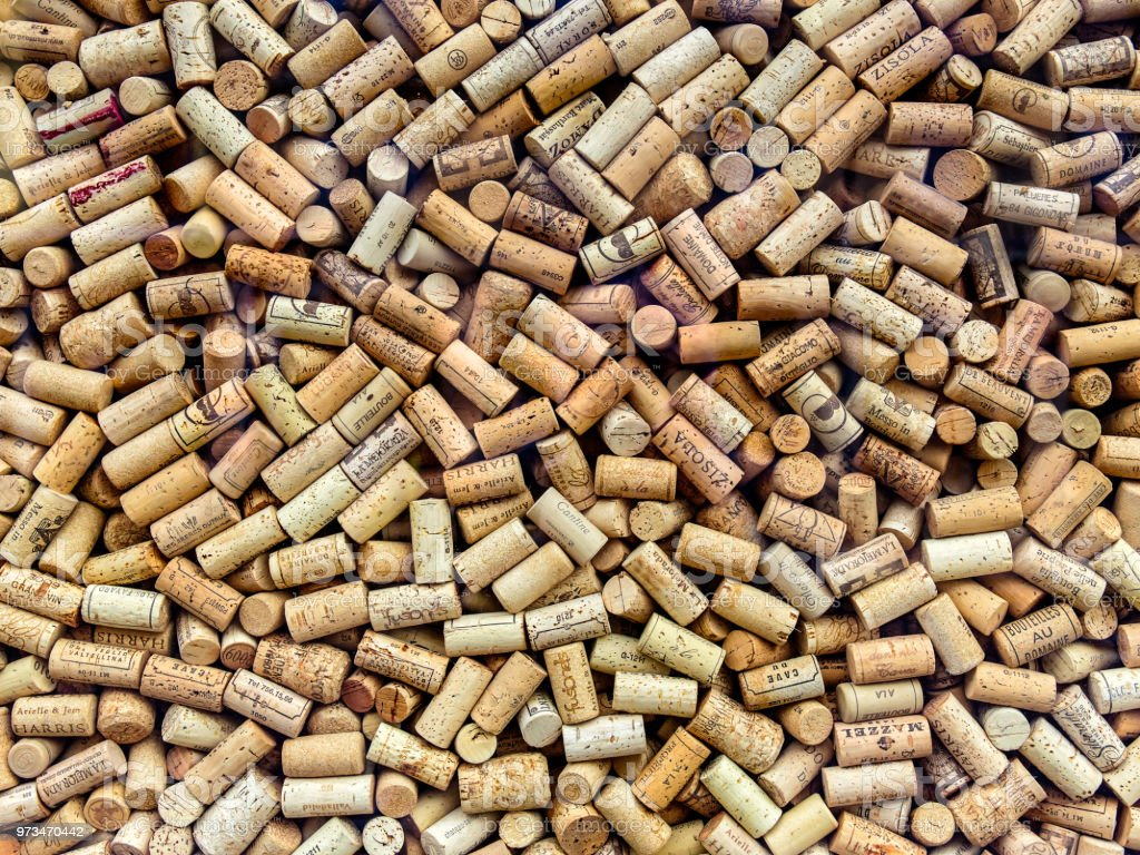Wine corks background стоковое фото