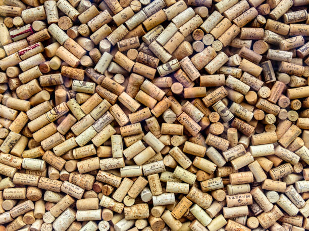 Cтоковое фото Wine corks background