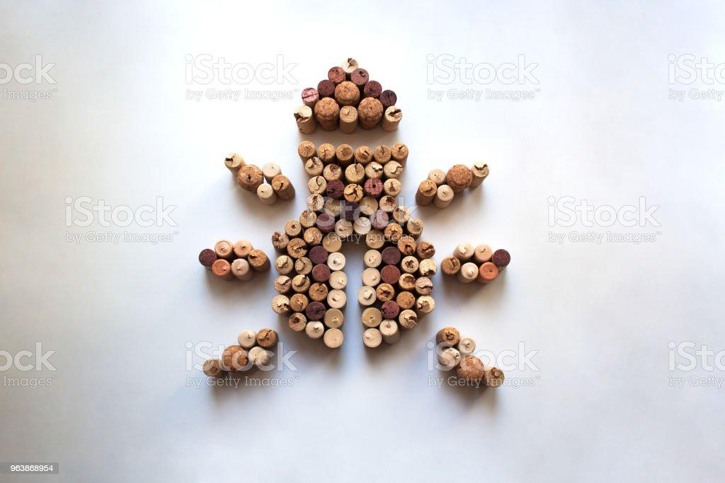 Wine corks bug - Royalty-free Arachnid Stock Photo