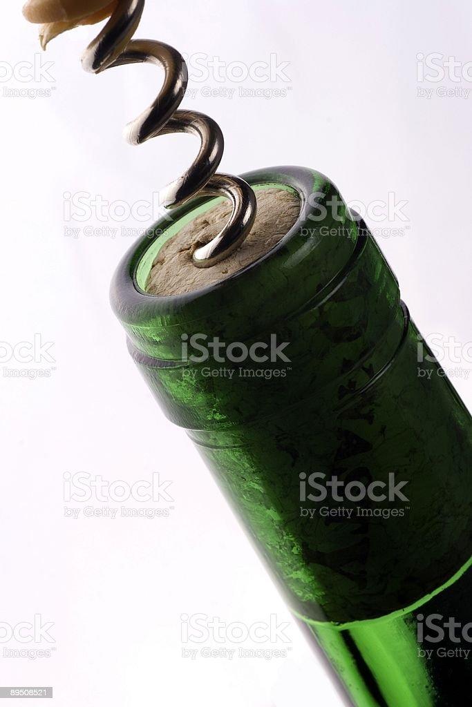 Wine Corkscrew royalty-free stock photo