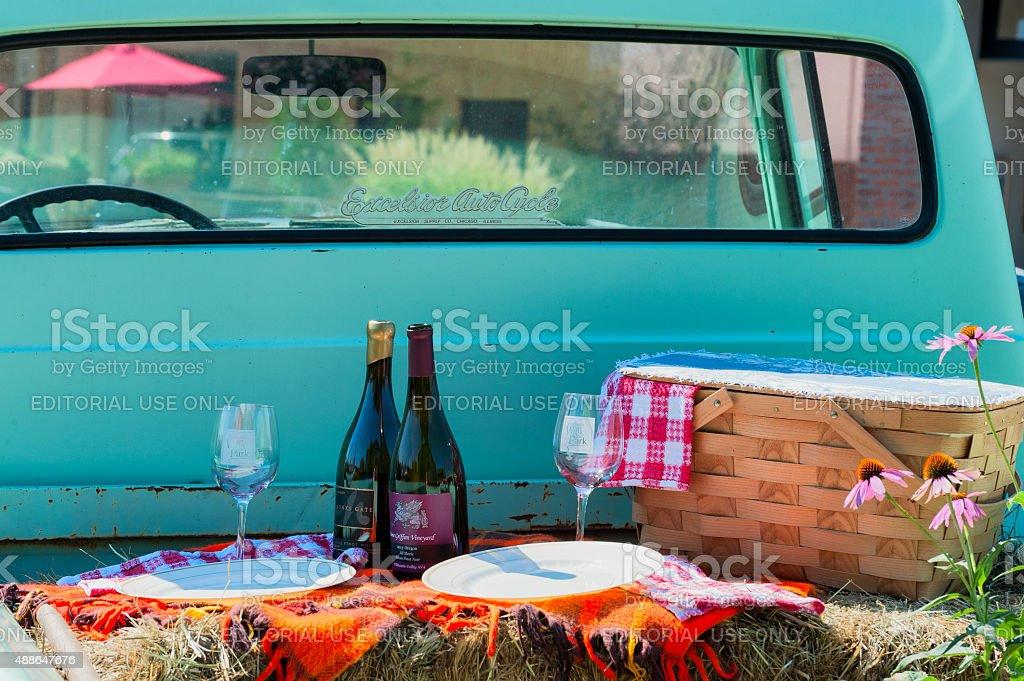Crush Wine Harvest Festival im Carlton, Oregon – Foto