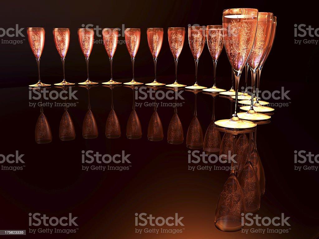 wine cup stock photo