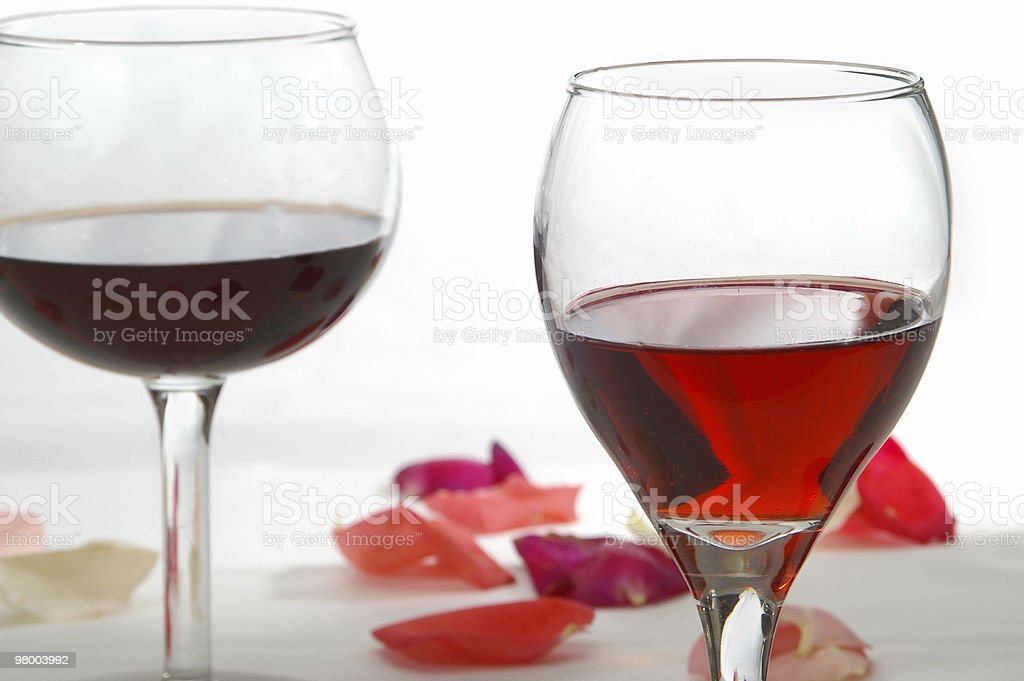 Wine Duo royalty-free stock photo