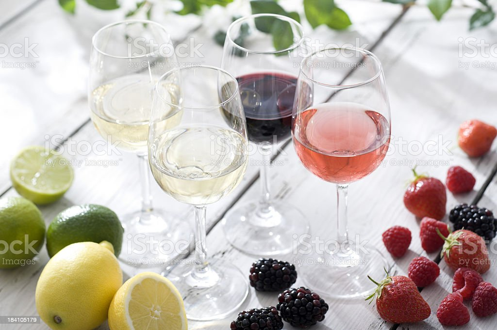 Wine Flavours stock photo