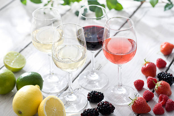 Wine Flavours stock photo