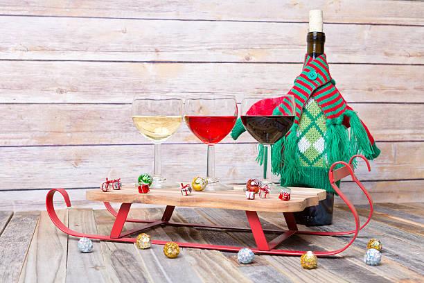 Wine flight with colorful holiday decorations picture id626552952?b=1&k=6&m=626552952&s=612x612&w=0&h=tezh5mokyis7iyr kopmdweizezqp06u tqedxusbcg=