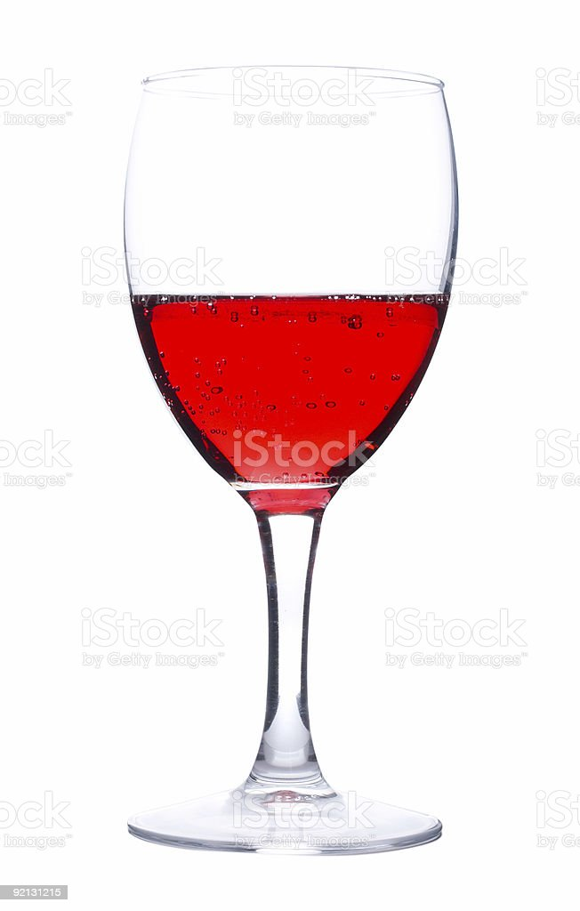 wine from red currant royalty-free stock photo