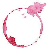 Wine glass mark