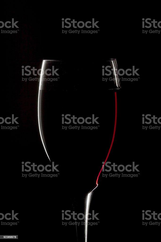 Wein Glas Lizenzfreies stock-foto