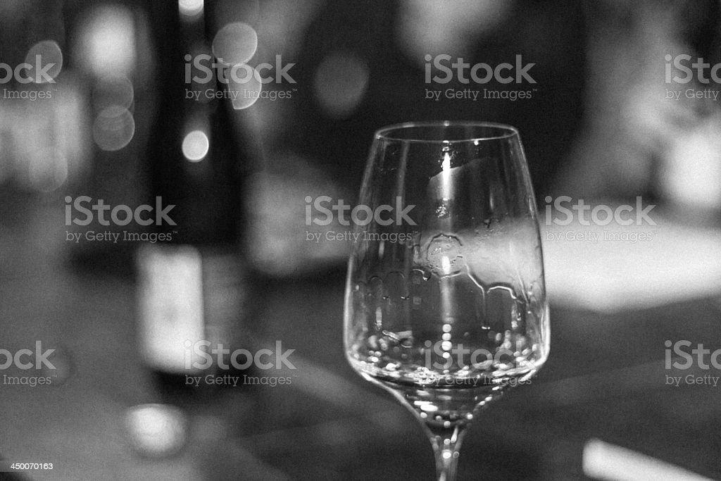 Wine Glass - Stock Image royalty-free stock photo
