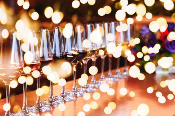 Wine glasses in a row buffet table celebration of wine tasting and picture id1086092820?b=1&k=6&m=1086092820&s=612x612&w=0&h=hxrt3tjsz0hqhyvzidlzpa929yqzzls04xfmrtvf1ja=