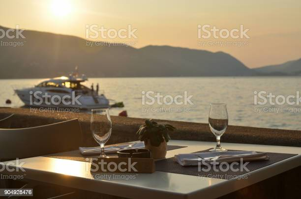 Wine glasses on table with sea view picture id904928476?b=1&k=6&m=904928476&s=612x612&h=8xmsec kk3vqsysjntthn1bjbwyxa4fo iiwbad5i4i=