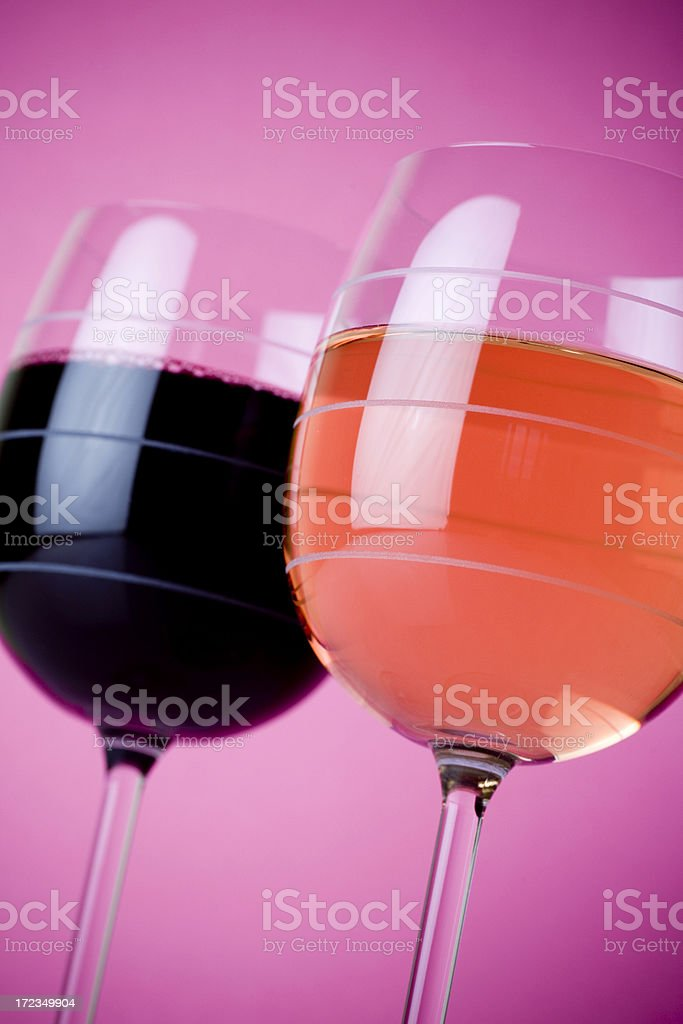 Wine glasses royalty-free stock photo