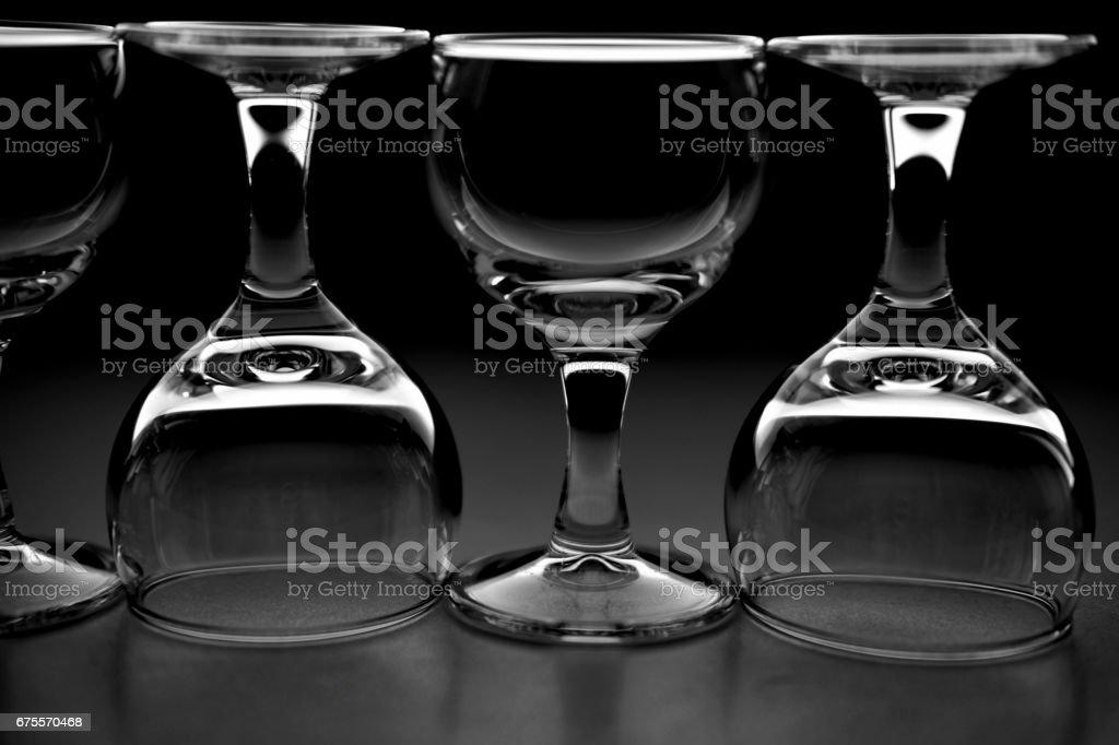 wine glasses photo libre de droits