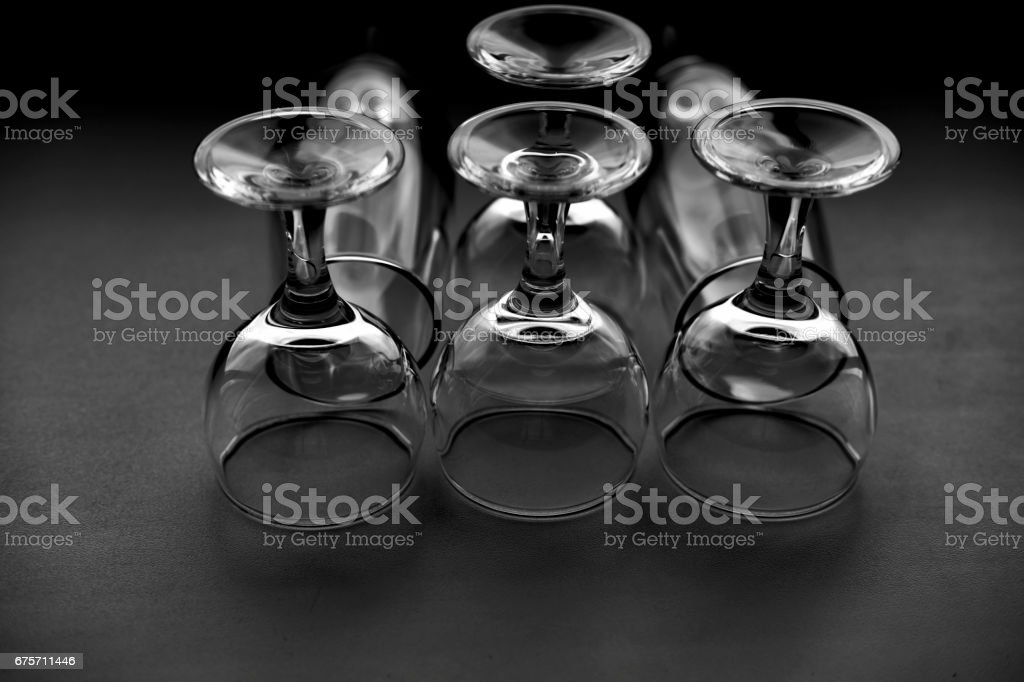 wine glasses 免版稅 stock photo