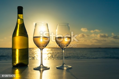 873264516istockphoto Wine glasses with beautiful view 610970470