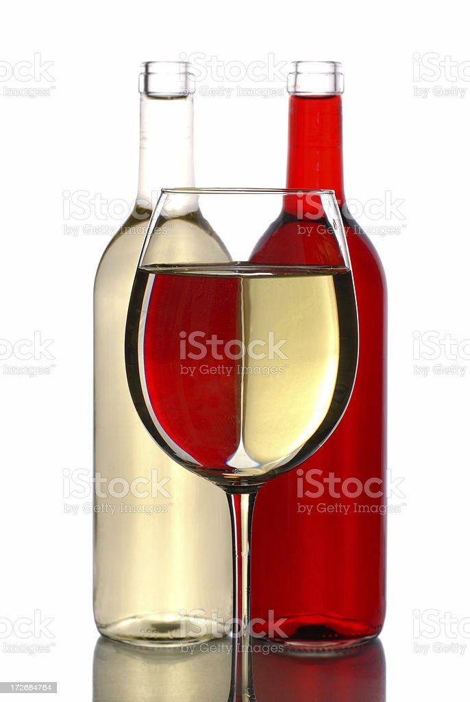 Wine illusion royalty-free stock photo