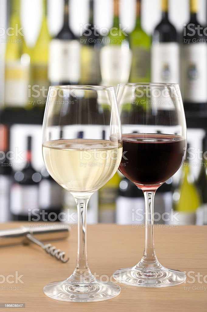 Wine in Showroom royalty-free stock photo
