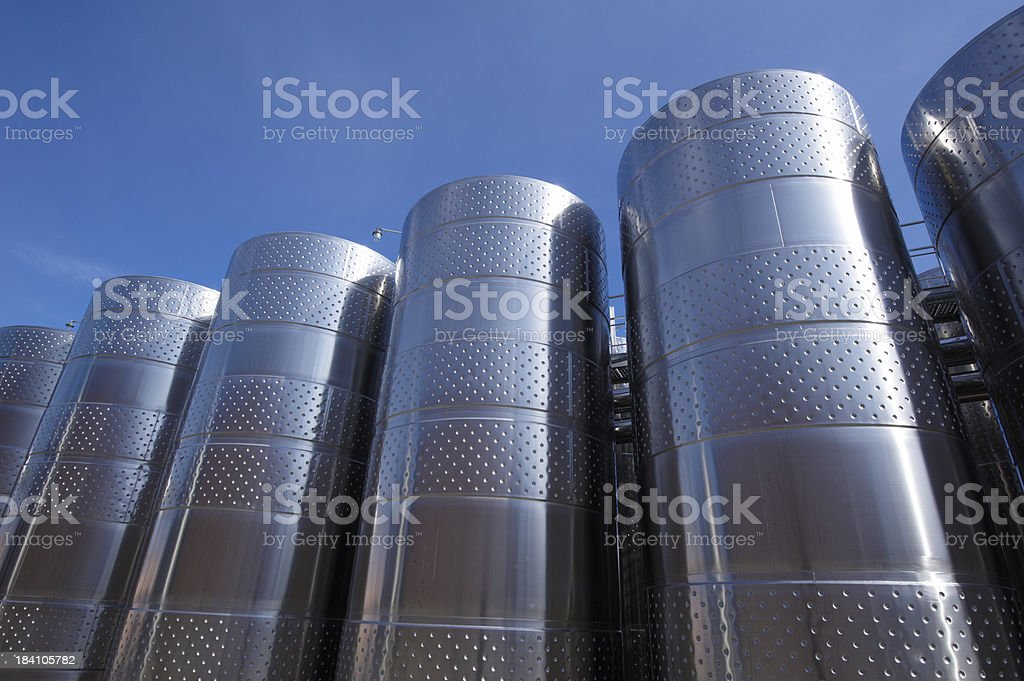wine industry royalty-free stock photo