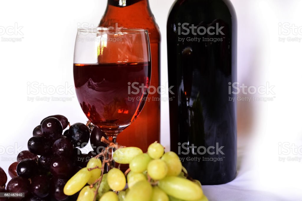 Wine isolated foto stock royalty-free