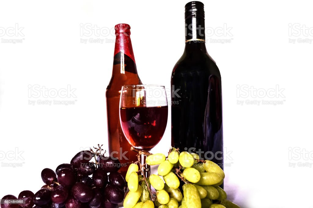 Wine isolated Стоковые фото Стоковая фотография