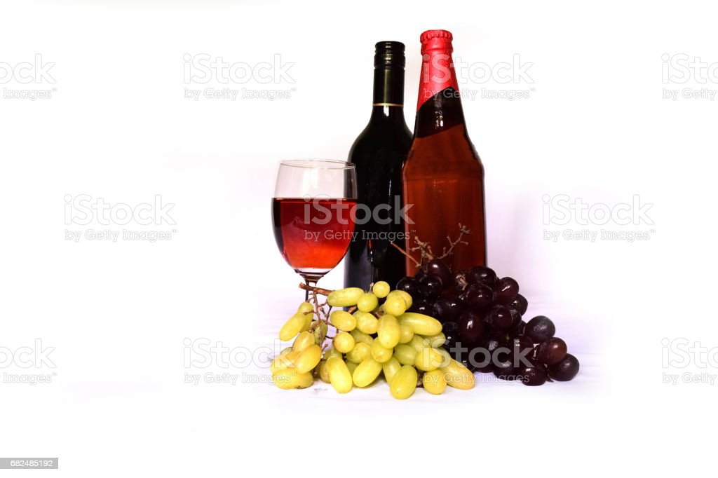 Wine isolated royalty-free stock photo