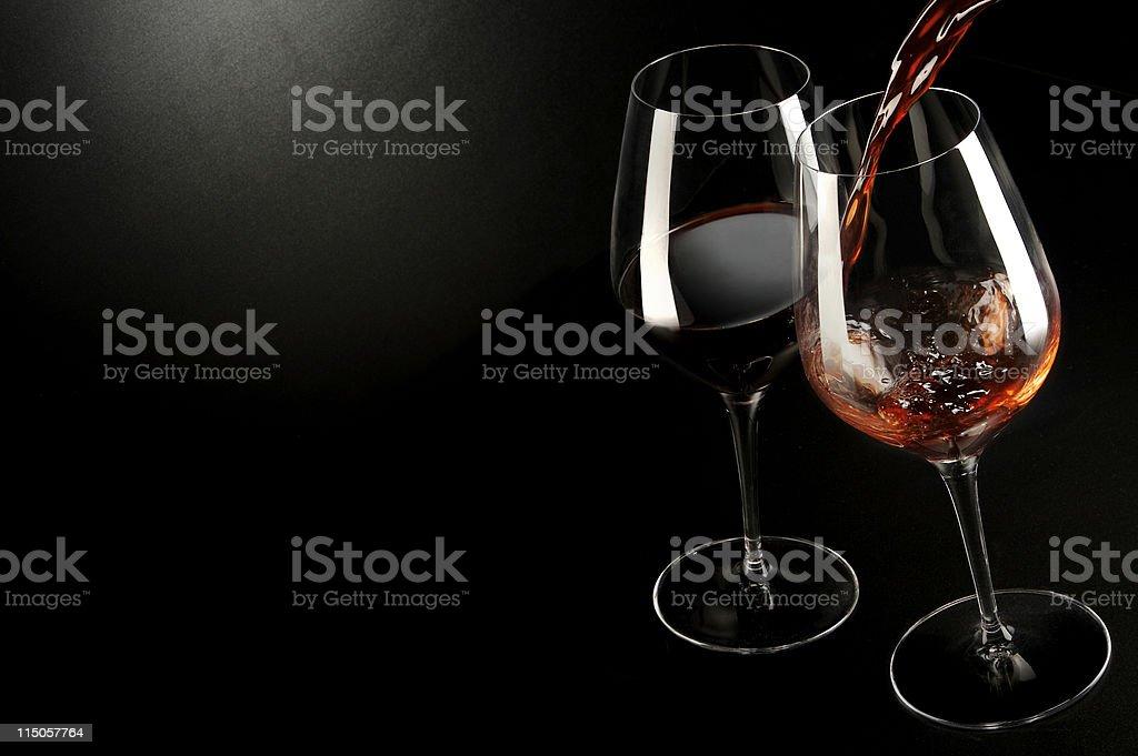 Wine... just met stock photo