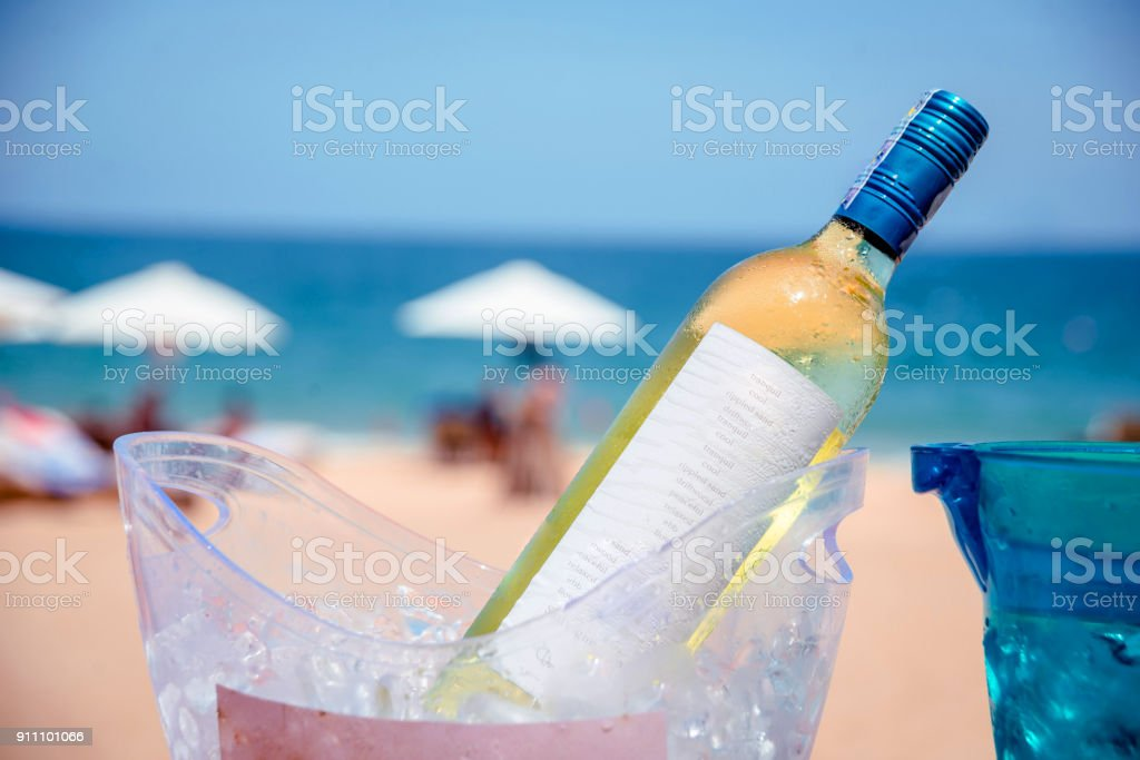 Wine on the table. Bar - foto stock